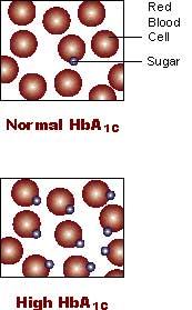 Blood Sugar Hb A1c Conversion Chart