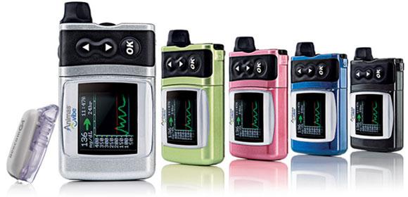 bombas de diabetes animas con monitoreo de glucosa