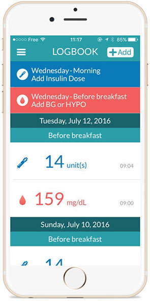 clinidiabet com > news 2017 > Voluntis Receives FDA